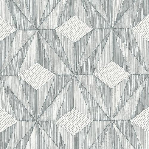 Paragon Geometric Wallpaper By Brewster Lelands Wallpaper