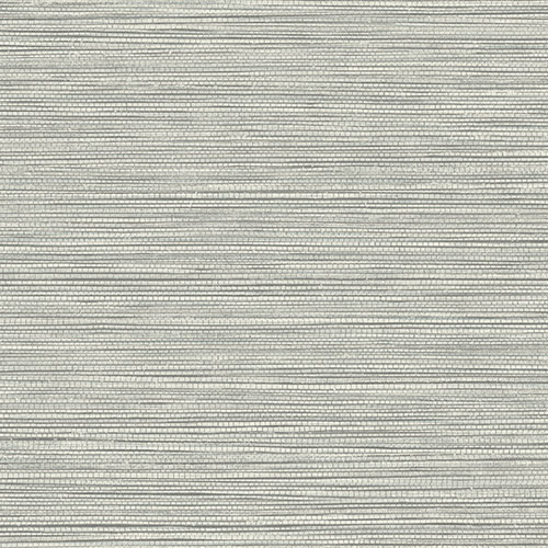 BV30108 Seabrook Wallcovering Texture Gallery Grasslands Wallpaper Cove Grey