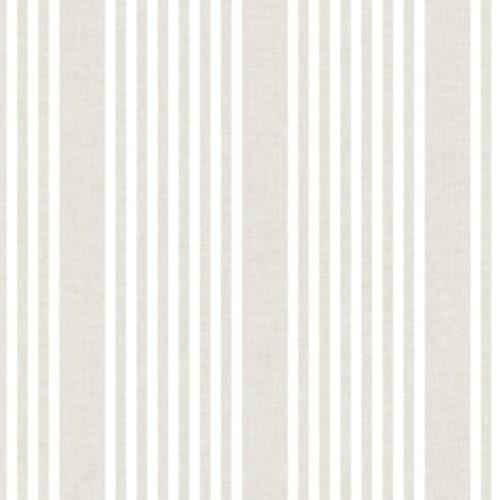 SR1581 York Wallcovering Stripes Resource Library French Linen Stripe Wallpaper Soft Linen