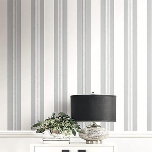 Glitter Stripe Wallpaper By Seabrook