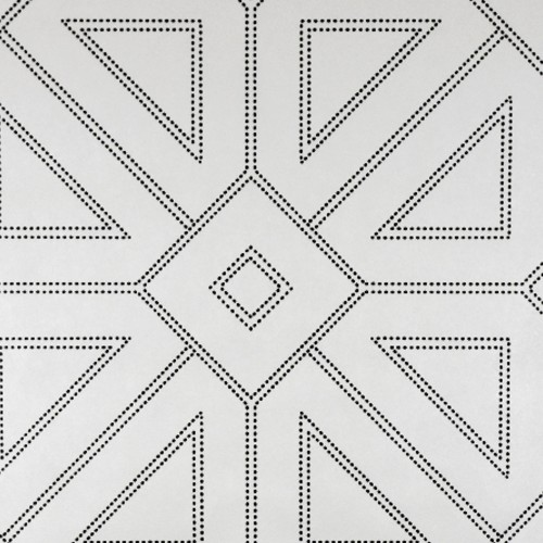 2902-87336 Brewster Wallcovering A Street Prints Theory Voltaire Geometric Wallpaper Off-White