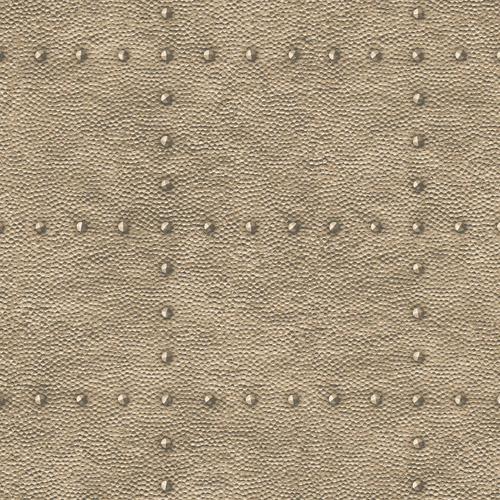 2922-24012 Brewster Wallcovering A Street Prints Trilogy Goldberg Hammered Metal Wallpaper Brown