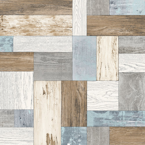 2922-25385 Brewster Wallcovering A Street Prints Trilogy Knock on Wood Wallpaper Light Blue