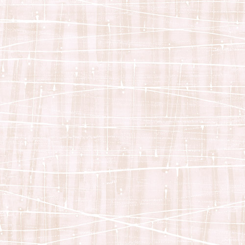 FW36853 Patton Wallcovering Norwall Fresh Watercolors Meander Wallpaper Pink