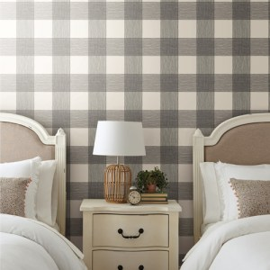 PSW1000RL Magnolia Common Thread Peel and Stick Wallpaper Room Setting by York Wallcovering