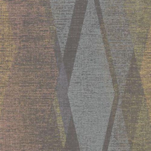 2909-IH-23506 Brewster Wallcovering Riva Torrance Distressed Geometric Wallpaper Multi-Color