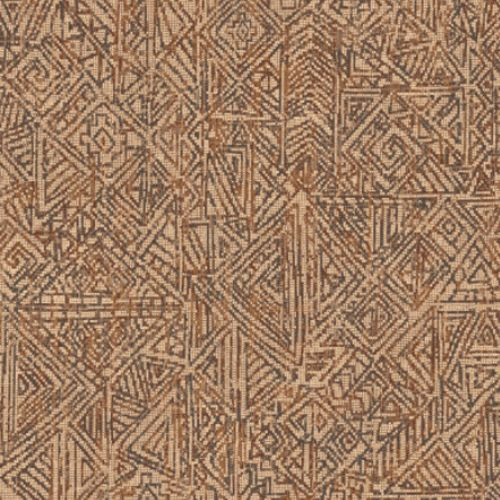 391520 Brewster Wallcovering Eijffinger Terra Longmont Global Geometric Wallpaper Burnt Sienna