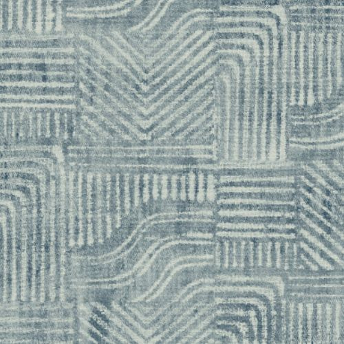 391530 Brewster Wallcoverings Eijffinger Terra Pueblo Global Geometric Wallpaper Blue