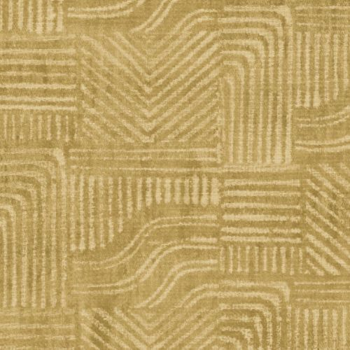 392535 Brewster Wallcoverings Eijffinger Terra Pueblo Global Geometric Wallpaper Mustard
