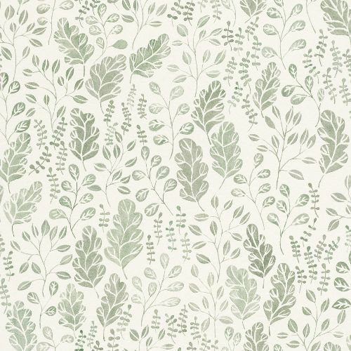 2948-27014 Brewster Wallcoverings A Street Prints Spring Isha Leaf Wallpaper Green