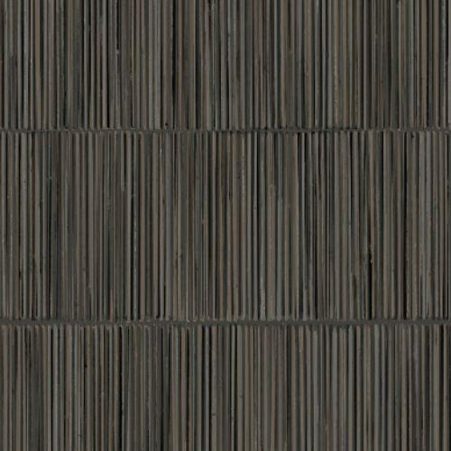 391510 Brewster Wallcoverings Eijffinger Terra Aspen Natural Stripe Wallpaper Charcoal