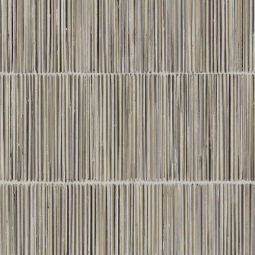391512 Brewster Wallcoverings Eijffinger Terra Aspen Natural Stripe Wallpaper Grey