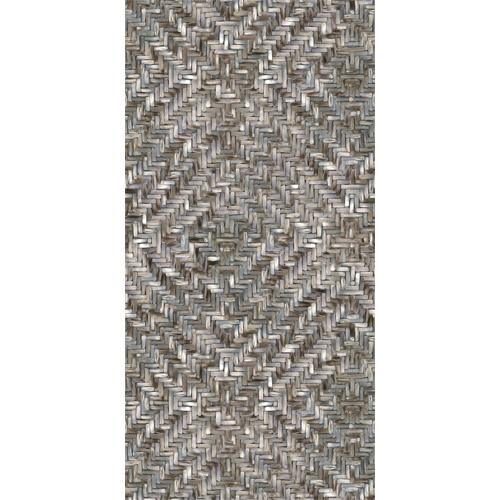 391562 Brewster Wallcoverings Eijffinger Terra Lakewood Weave Repeatable Wall Mural Ebony