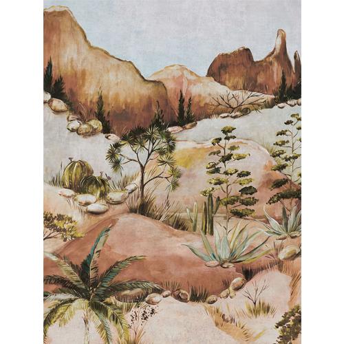 391565 Brewster Wallcoverings Eiffinger Terra Scenic Savanna Wall Mural Earth