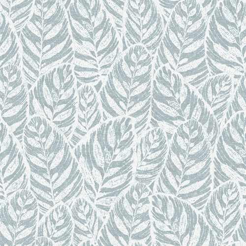 2964-25924 Brewster Wallcoverings A Street Prints Scott Living Del Mar Botanical Wallpaper Light Blue