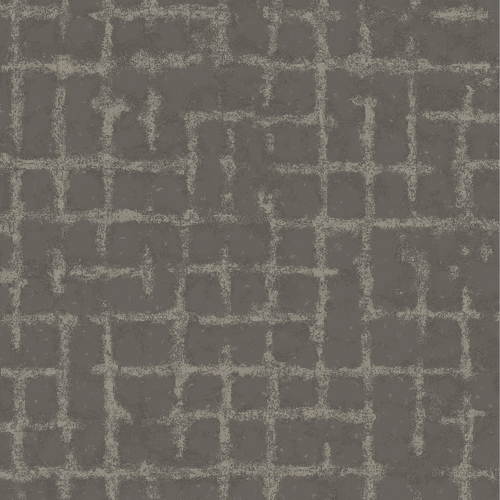 2964-87349 Brewster Wallcovering A Street Prints Scott Living Shea Distressed Geometric Wallpaper Charcoal