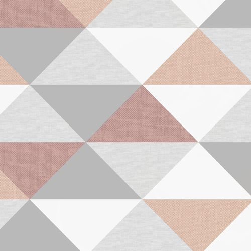 NW31100 Seabrook Wallcoverings NextWall Mod Triangles Peel and Stick Wallpaper Multi-Color