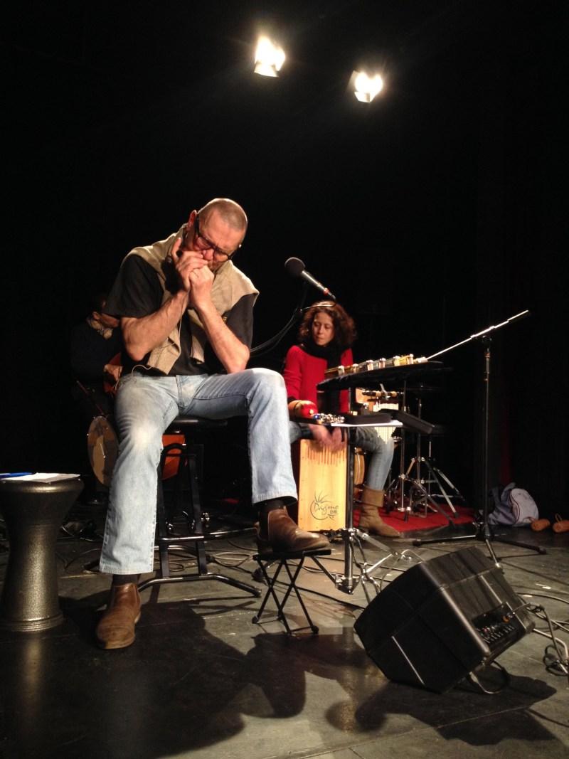Alain Delhotal - Harmo'co quartet