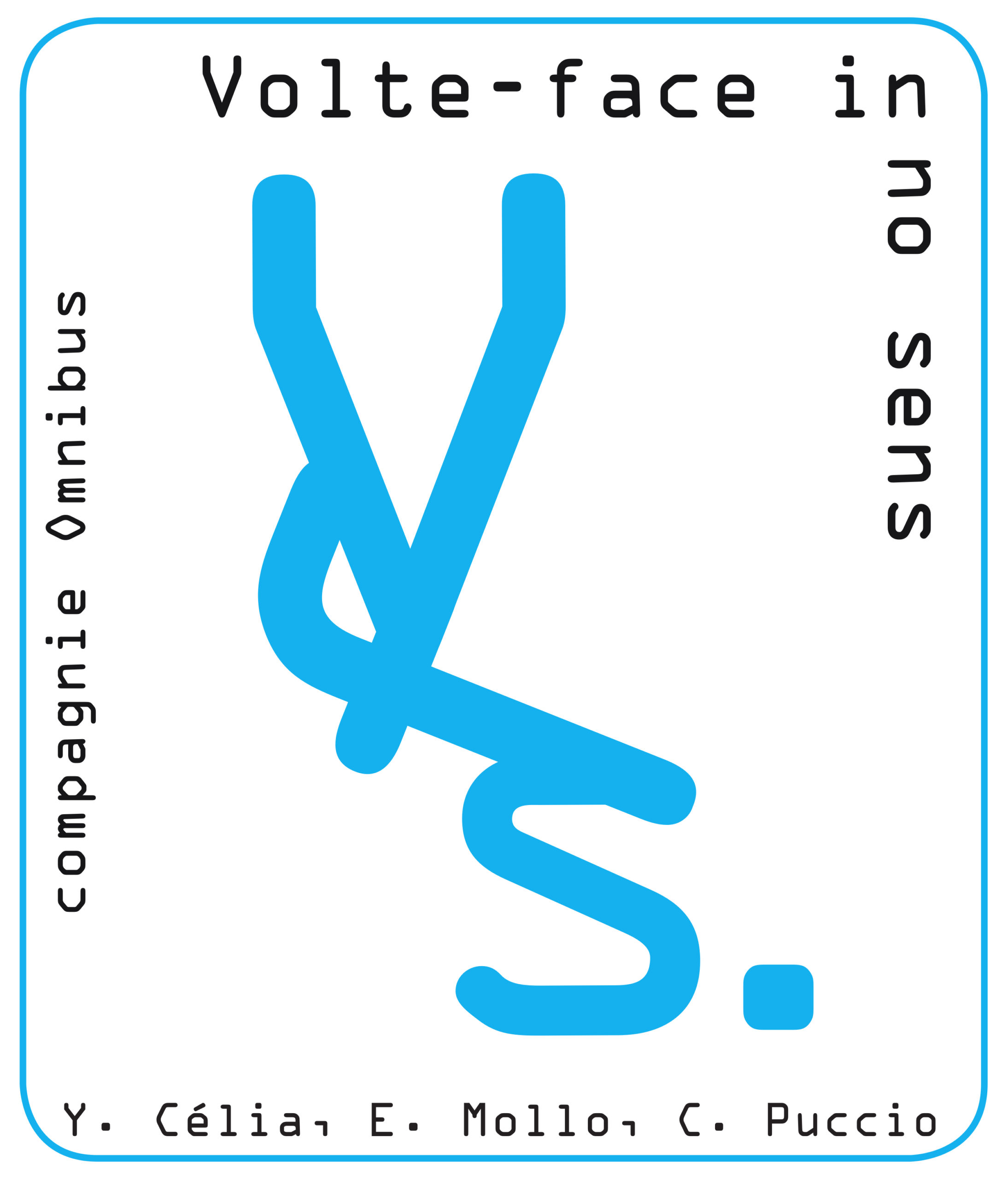 Visuel Volte-face in no sens