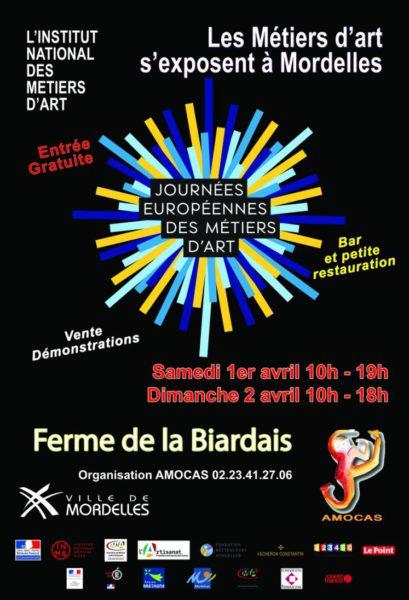 Journées européennes des métiers d'art à Mordelles le samedi 1er dimanche 2 avril 2017