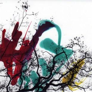 peinture sur photo 10cm x 10cm