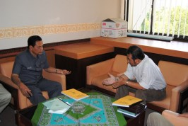 Diskusi Lingkungan bersama Ketua Komisi B DPRD Jawa Tengah