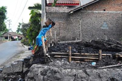 Pemanfaatan humus enceng gondok dari dasar Danau Rawapening