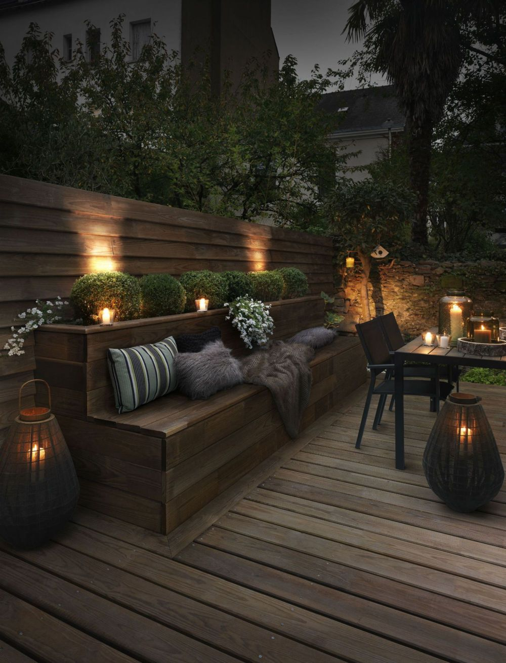 light up your outdoor space with style