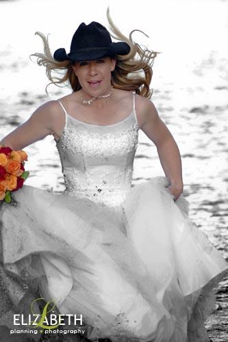 Getting Dirty Bridal Style  Trash the Dress  Grandby Wedding Photography  L Elizabeth Events