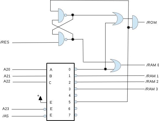 block diagram of motorola 68000 microprocessor