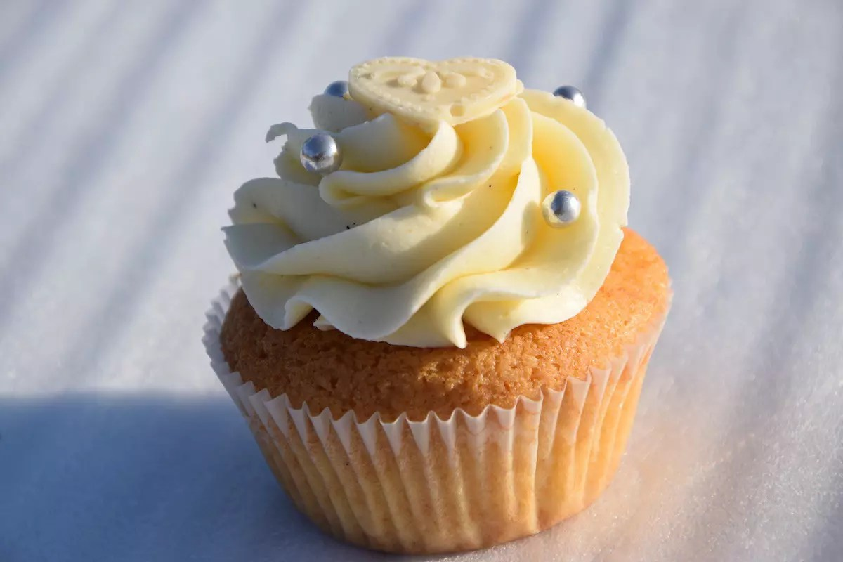 Unser Rezept fr Vanille Cupcakes  Lellas Cupcakes