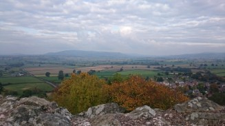 View from Montgomery castle