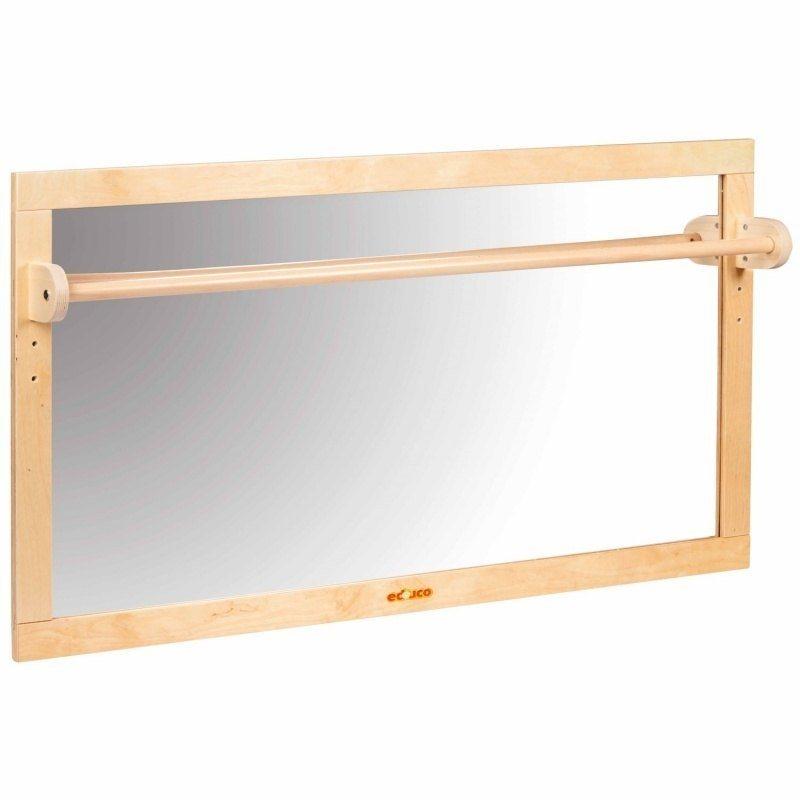 Miroir Montessori avec barre de traction