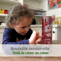 LeLoLife - Bouteille sensorielle - outil de retour au calme