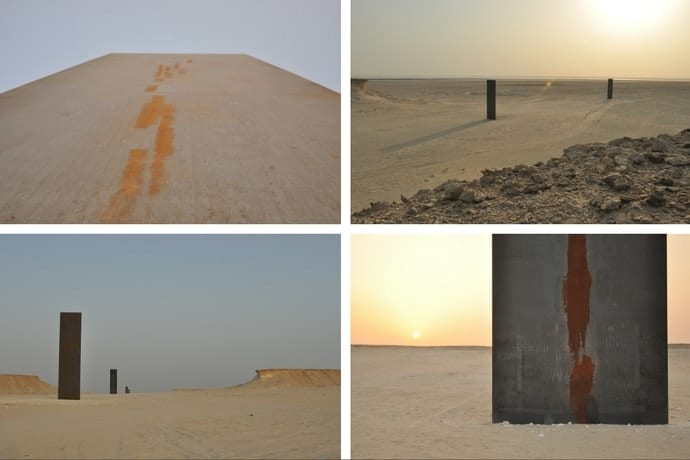 Things to do in Qatar - East-West/West-East by Richard Serra