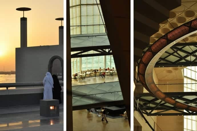 Inside the museum of Islamic Art, Doha, Qatar