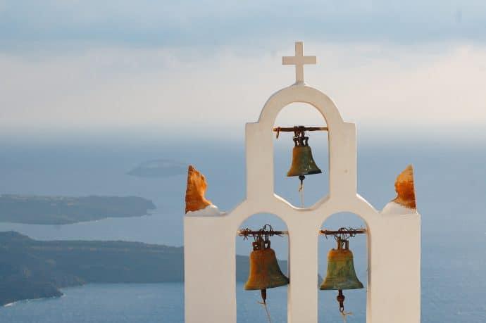 Santorini church bells - A guide to Santorini