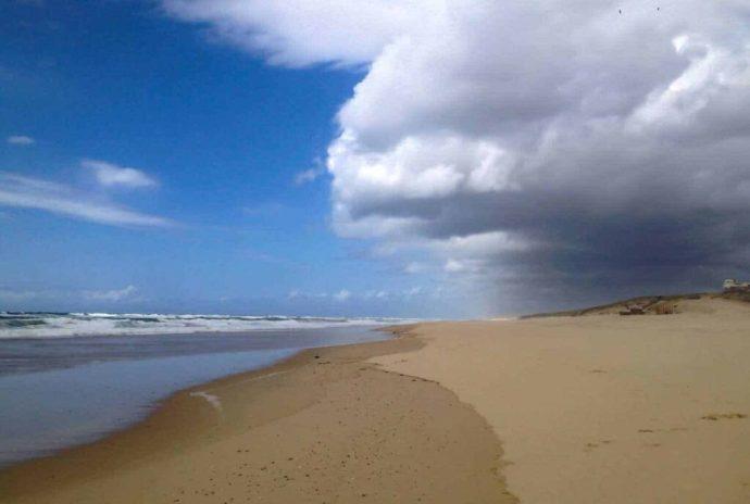Plage de l'Especier, landes beaches