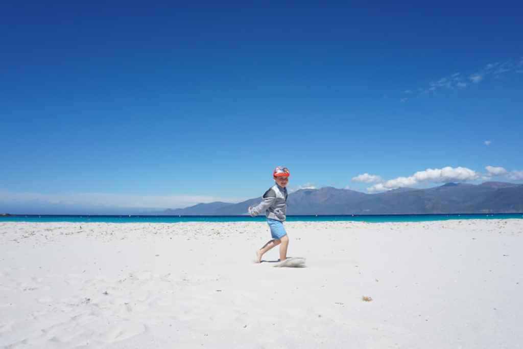 Corsicas best beaches for kids, Saleccia and Loto