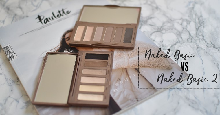 Quelle Naked Basics choisir? #Battle