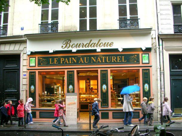Outside a neighbourhood boulangerie. LOVE!
