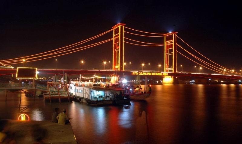 Jembatan Ampera  LEMABANG 2008  Berita Photo dan