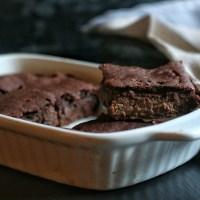 Rye flour protein brownies