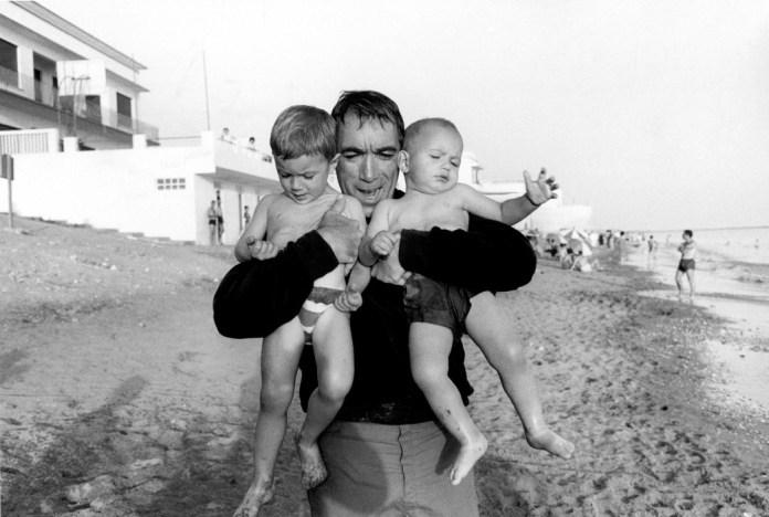 1965. Anthony QUINN. Bruce Davidson.
