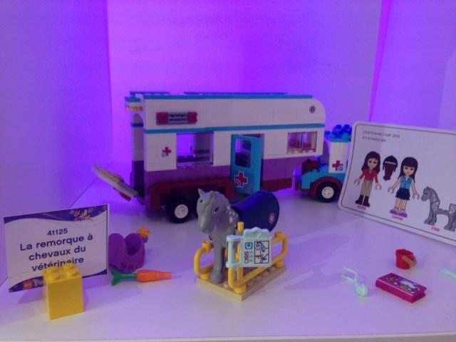 LEGO - La remorque à chevaux du Vétérinaire - Référence : 41125