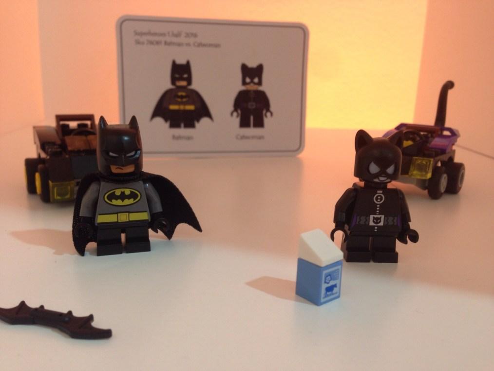 LEGO - BATMAN CONTRE CATWOMAN - Référence 76061 (environ 10 €)