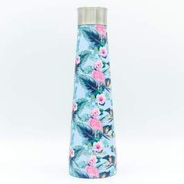 bouteille isotherme design flamingo color bottle