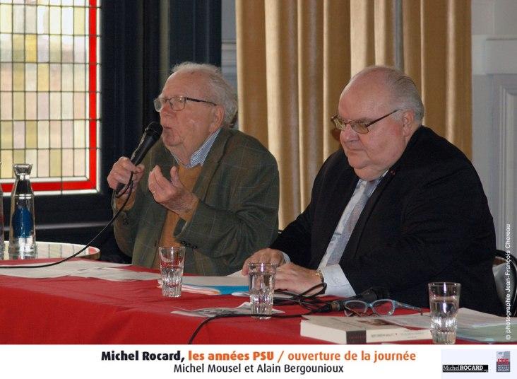 1- Michel Mousel et Alain Bergounioux