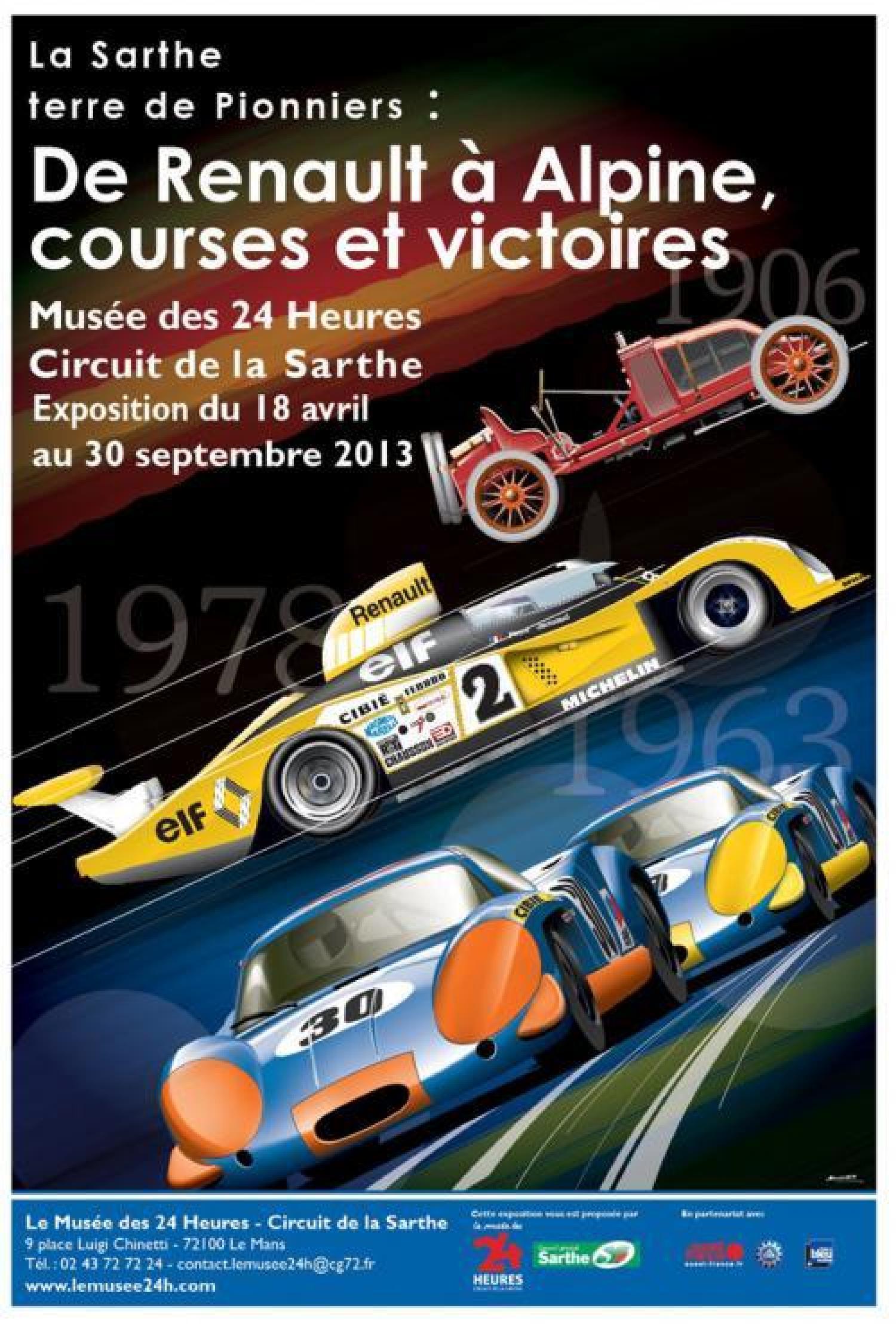 Musée Des 24 Heures Du Mans : musée, heures, L'affiche, Nouvelle, Exposition, Musée, Heures-Circuit, Sarthe, Révélée, 24h-lemans.com