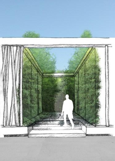 Vue Passage de Bambous